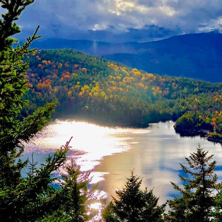 Loon Mountain in Vermont by Kenneth